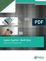 Gyproc Technicaldatasheets Gypfinemultiplaster