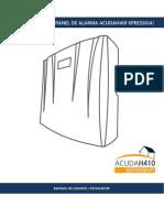 Manual Acudah410 v2.9