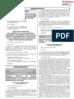 Congreso publica resolución que suspende por 120 a legislador Luis López