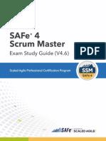 SAFe 4 Scrum Master Exam Study Guide (4.6)