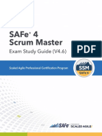 SAFe 4 Scrum Master Exam Study Guide (4.6)