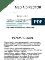 Macro Media Director