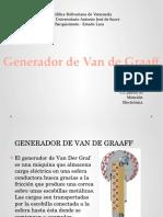 Generador de Van de Graaff
