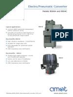 Datasheet 8064A C Electropneumatic Converter 1110 Rev2(1)