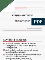 01.Konsep-statistik 7 Sept 2015