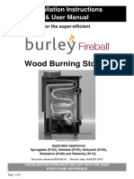 9103 9112 Burley Wood Burner Installation Instructions AUGUST 2016
