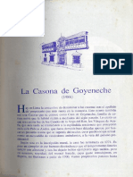 La Casona de Goyeneche