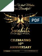 SWAHILI FASHION WEEK 2017 MAGAZINE