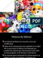 Tradiciones y Fiestas Religiosas en México