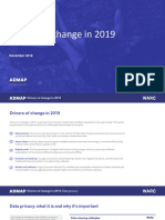 Drivers of Change in 2019