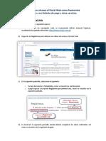 Acceso Portal Web Pensionista Ejercito