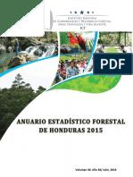 CIPF Anuario Forestal de Honduras 2015