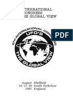 19916 Th International Congress Sheffield