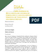 Acuerdo 5498 Ecuador
