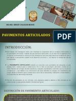 Pavimentos articulados _ UNPRG