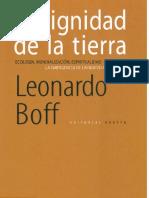 Dignidad Tierra-Leonardo Boff