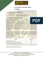 Ficha Técnica Aceite de Chía - Bio Omegas