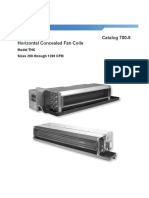 Catalogue FTHC Daikin CAT 700-5 LR Horz-Cncld Fan Coil Catalog