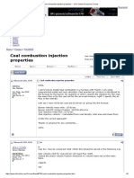 Coal Combustion Injection Properties -- CFD Online Discussion Forums