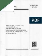 covenin 271-78.pdf