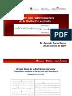 Ablacion Con Radiofrecuencia de La Fibrilacion Auricular