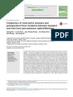 comparison of post op fever in percutaneous surg.pdf