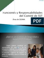 Funciones y Responsabilidades Del Comité de SST