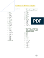 1- Exercícios de Potenciação.doc