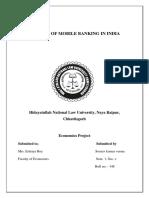 Sem1.Economics Project.ramesh Choudhary.roll No.118 Sourav