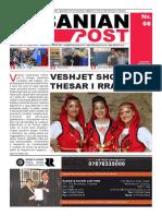 Albanian Post - SHKURT