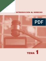 Temas de Derecho. Tema1