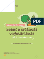Alimentacao Para Bebes Vegetarianos