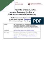 2017-07 Arbitration In Criminal Algorithm
