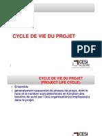 4.Cycle de Vie d'Un Projet. Cesi.m.p