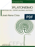 Alsina Clota-el Neoplatonismo Completo
