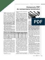 FOREMNY a. - Kompozyty FRP Do Wzmacniania Konstrukcji