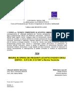 Anania-Barillari-Cianci - Misura Req Acustici Edifici