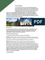 Patrimonio Arqueológico de Guatemala