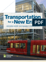 Transportation for a New Era