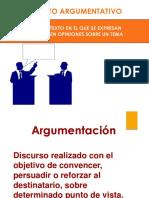 PPT1. TextoArgumentativo Definición Elementos