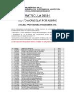 Pagos Por Alumno - Ing. Civil