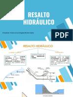 Resalto Hidraulico
