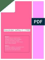 Alexander, Jeffrey C.
