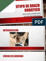 Prototipo de Brazo Robotico