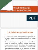 Auditoria Informatica Unidad 1
