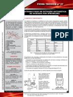 Ficha Tecnica Nº 27 Sistemas Fixos de Extincao Automatica de Incendio Por Sprinklers