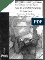 Cuentos de la mitología griega - 2. En la tierra. Alicia Esteban y Mercedes Aguirre