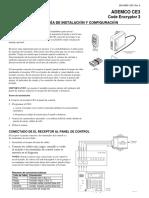 CE3 Manual de Instlacion