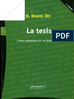 La Elaboracion de La Tesis Ccesa007