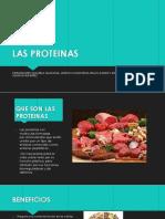 Las Proteinas Resentacion (1)